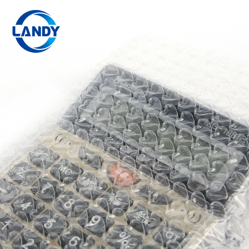 Heart shape air bubble packaging wrapper,Heart shaped bubble film cushion wrap