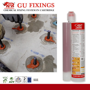Adhesive anchoring system glue concrete m20 bolt epoxy resin reinforce