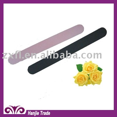 2014 Fashion Normal Finger Beauty Nail File With Sand Paper