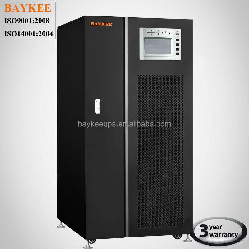 Baykee 300KVA Low Frequency Online UPS 3 phase In 3 Phase Out UPS Power