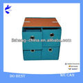New Decorative Home Design Foldable Storage box with 4 drawer