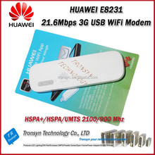 New Arrival Original Unlock HSPA+ 21.6Mbps E8231 3G USB WiFi Modem And 3G USB WiFI Dongle