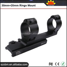 2016 Wholesale Gun Accessories Tactical Quick Detach Double Rings 30mm&20mm Din Rail Mounting Clip Weaver Rifle Scope Mounts