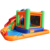 nylon backyard inflatable water slide/inflatable bouncy castle with water slide/kids residential inflatable water slides