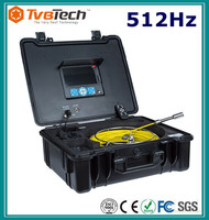 Remote Control Sewer Drainage Inspection Camera For Pipe Dia 40-180mm Pipeline Inspection Solution With 512Hz Sonde&Receiver