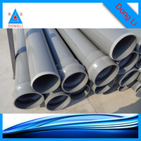 socket joint 400mm pvc water pipes