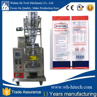 wuhan shampoo/lotion sachet packing machine with CE certificate Smart Liquid Maker Layman Can Operate