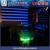 Sell like hot cakes KTV mobile led bar glass tea table