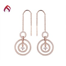 Wholesale cheap earrings silver 925 cz earrings fashion jewellery latest fashion earring