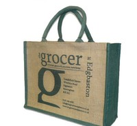 10 years china manufacturer hot sale jute shopping bag
