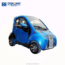 40km/h high quality low speed 2 seats mini electric passenger vehicle