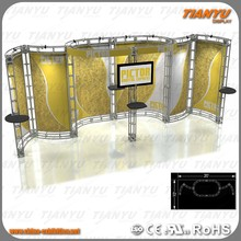 Aluminum Lighting Spigot/Bolt Truss Stage System Trade Show Booth