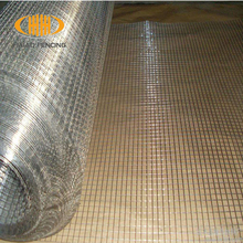 China professional cheap galvanized wire mesh rolls/1/2 inch square hole welded wire mesh/pvc coated welded wire mesh