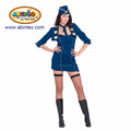 Air hostess (Stewardess) lady costume (08-422) as Halloween costume for lady with ARTPRO brand