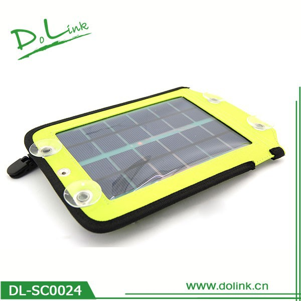 solar wireless mobile phone charger 4000 mAh battery