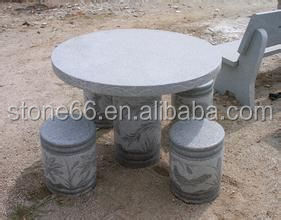 hand made stone furniture,stone table and chairs