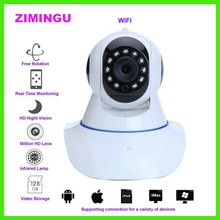 720P HD Indoor WiFi Wireless IP Camera, WiFi Baby Monitor, P2P, WPS, IR-Cut, Alarm, Micro-SD Card