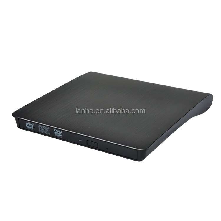 USB3.0 Portable External Slim DVD-RW/CD-RW Burner Recorder Optical Drive CD DVD ROM Combo Writer support windows10 tablet