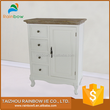 Top solid furniture wood cabinet