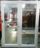 aluminum interior double french door price from china alibaba