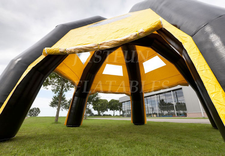 commercial inflatable roof top tent for party n events