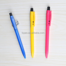 plastic eco jump pen with customized barrel and logo TC-5590