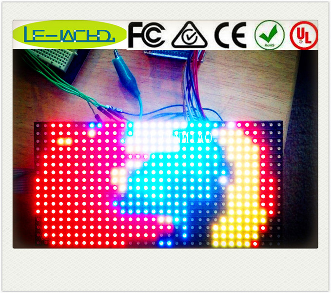 64x32 led display module dot matrix p3 3 chips smd led white led display module indoor led advertising screen