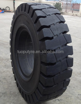 High quality Chinese hot sale port use heavy duty tyre 1000-20 solid tyre with ISO