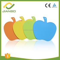 5801 Plastic Apple Cute PP Cutting Chopping Board Blocks For Kitchenware
