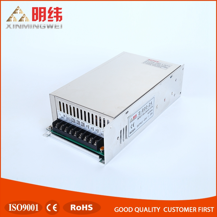S-600-24 driver power supply converter, 24v dc power supply