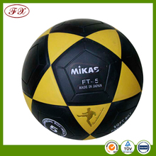 2016 machine stitched durable pvc lamination soccer ball footballs
