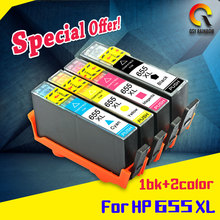 2017 hot sell printer ink cartridge compatible for HP ink cartridge