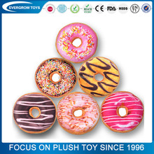 wholesale custom round donut pillow donut plush <strong>toys</strong>