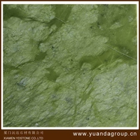 2016 OEM green marble wall tile