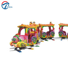 The latest hot product track train,Amusement park miniature trains for sale/amusement park FRP body electric train