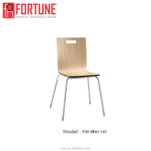 Hot sale Overlapped Restaurant Wood Chair with High Quality in China
