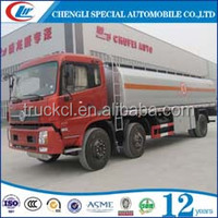 Dongfeng 6*2 8 Wheels 18000 L diesel Fuel Tank Oil Gasoline Transport stair sack Trucks