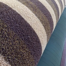 Indoor and outdoor remove dirt 8mm colorful PP cheap artificial grass carpet