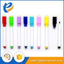 Best price of dry erase Whiteboard marker pen with brush