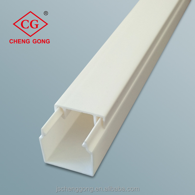 China supplier full sizes PVC electrical trunking for protecting the wire cable