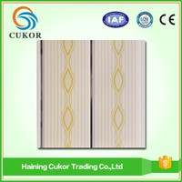 homogeneous pvc tiles ceiling paneling 8mm for house design