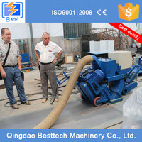 Industry floor coating pretreatment blasting machine, road surface floor shot blasting machine