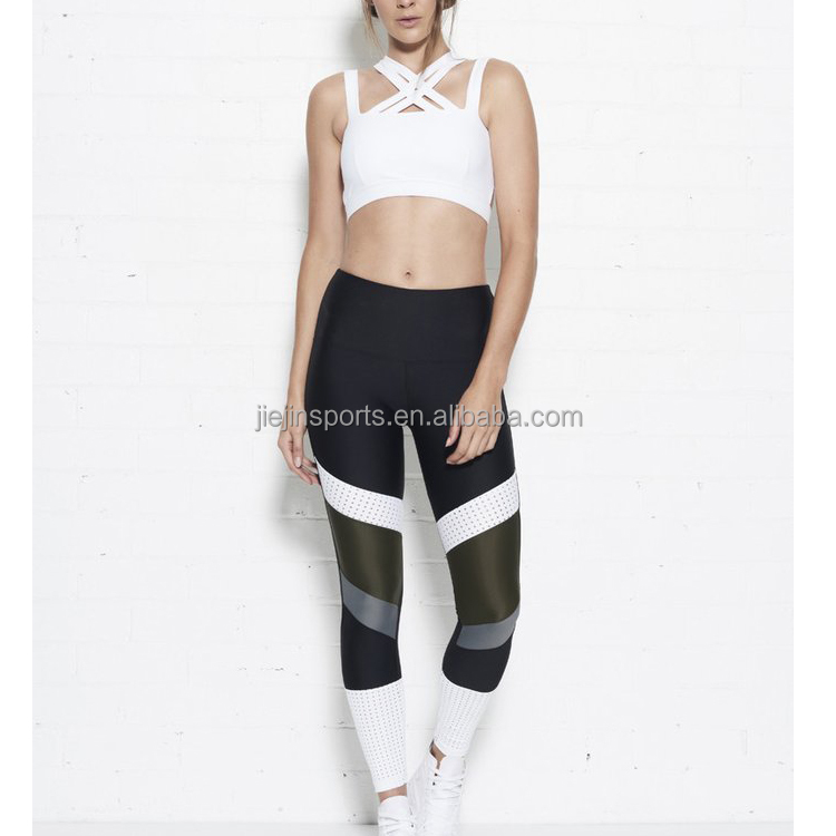 Women Special Sexy Sports Bra Polyester And Spandex Fabric Cheap In Tight Yoga Pants