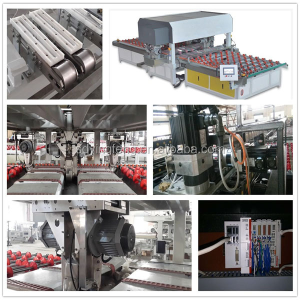 Alibaba Trade Assurance 4 Sides glass grinding machine with CE