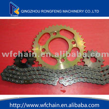 motorcycle chain and sprocket sets/motorcycle chain and sprocket kits ,motorcycle chain sprocket