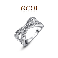 ROXI fashion Wholesale Jewelry 18K White Gold Engagement Ring, Wedding Ring, Diamond Ring