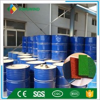PU binder for turf installation rubber tiles glue