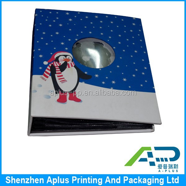 Customized logo printed photo albums