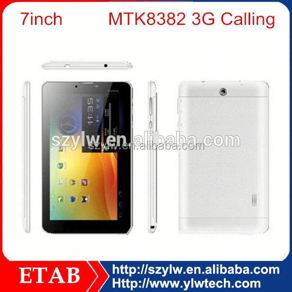 7 Inch MTK8312 Dual core 3g android tablet