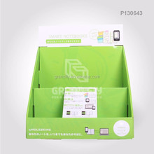 Corrugated Cardboard Paper Retail Counter Top POP Display Box with Custom Printed